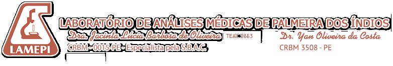 Lamepi – Laboratório de Análises Médicas de Palmeira dos Índios Logo